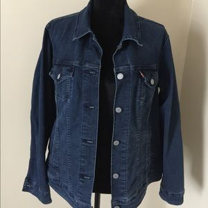 ❤️womens 1x levis jean jacket ❤️
